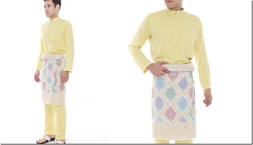 yellow-classic-baju-melayu