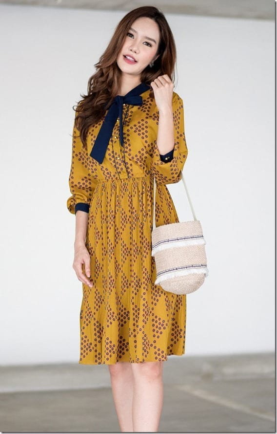 yellow-floral-vintage-style-dress