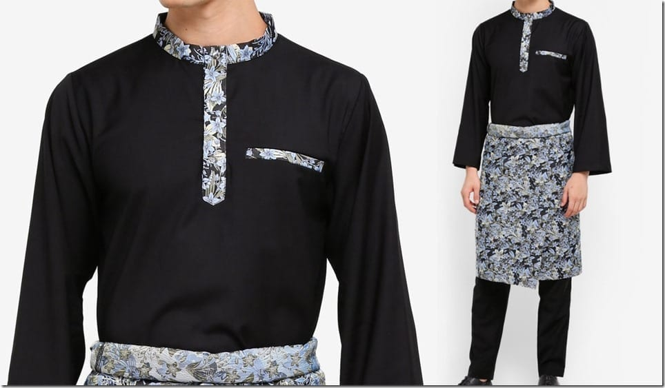 Jacquard Baju Melayu Style For Raya 2018 Fashion For Guys