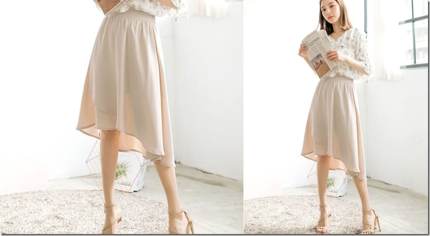 beige-high-low-wrap-midi-skirt