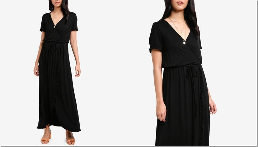 black-maxi-wrap-dress
