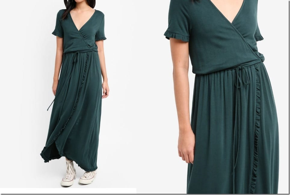 The Wrap Maxi Dress Style With Casual Chill Vibes