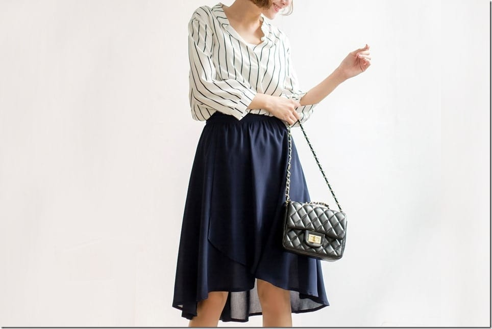 The High Low Hem Skirt Style Of 2018