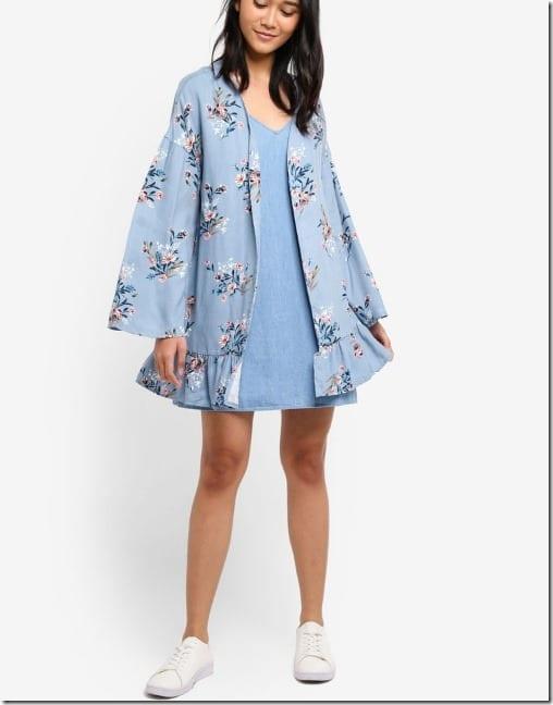 smoky-blue-floral-frilly-kimono