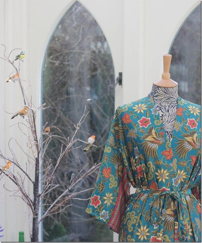 The Silk Kimono Robe Style To Wear With Everything