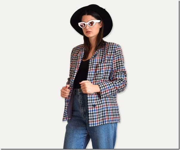 vintage-80s-plaid-blazer