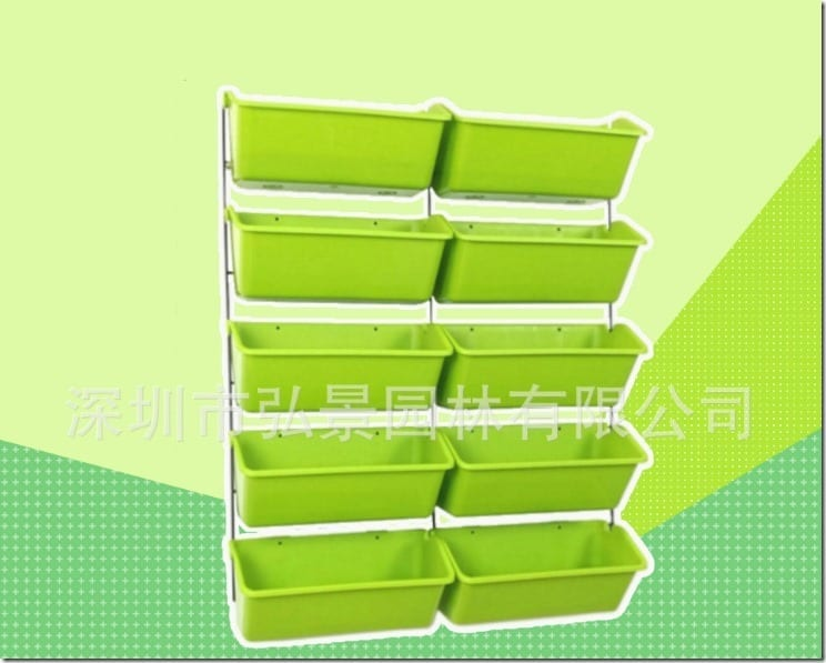 High Efficiency Vegetable and Herb Production Rack Malaysia