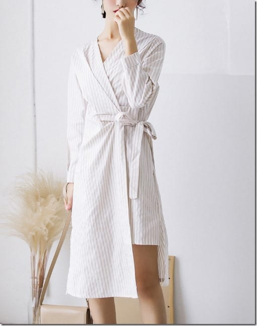 asymmetrical-hem-wrap-dress