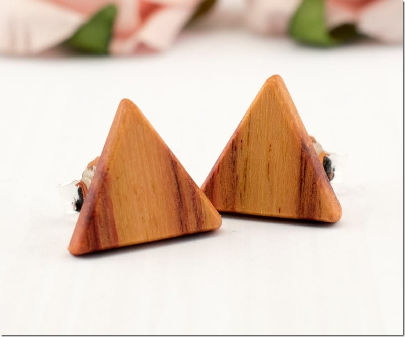 bahia-rosewood-triangle-stud-earrings