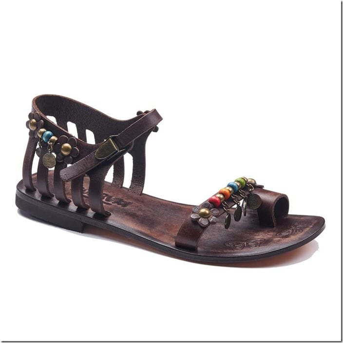 beaded-floral-charm-engraved-leather-toe-sandals