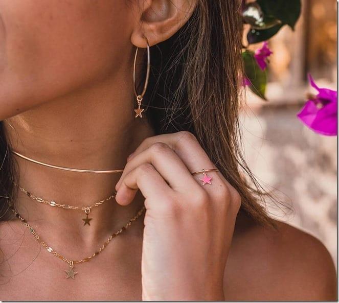 dangle-star-pendant-hoop-earrings