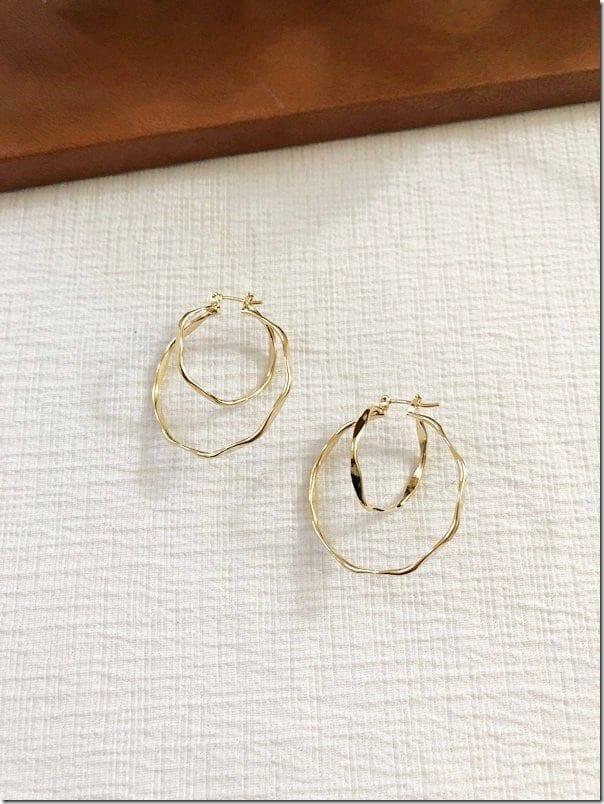 double-wavy-hoop-earrings