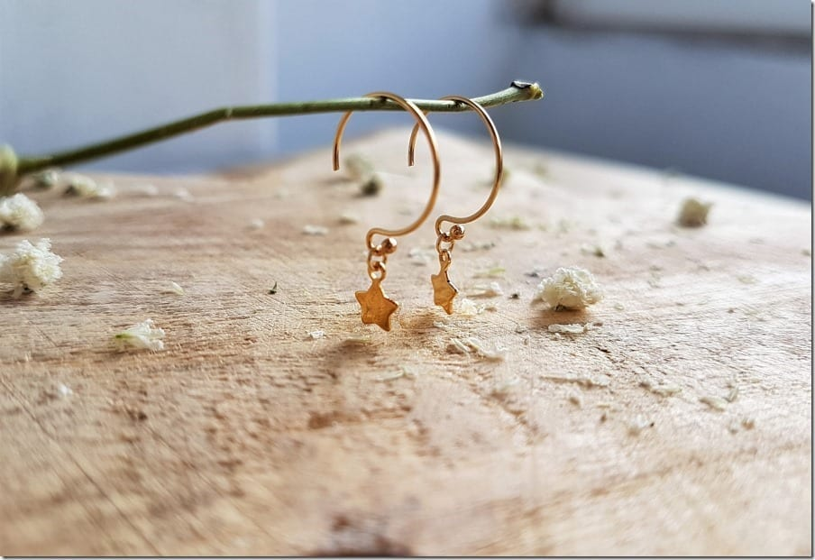 The Hoops With Stars For Your Charming Ears