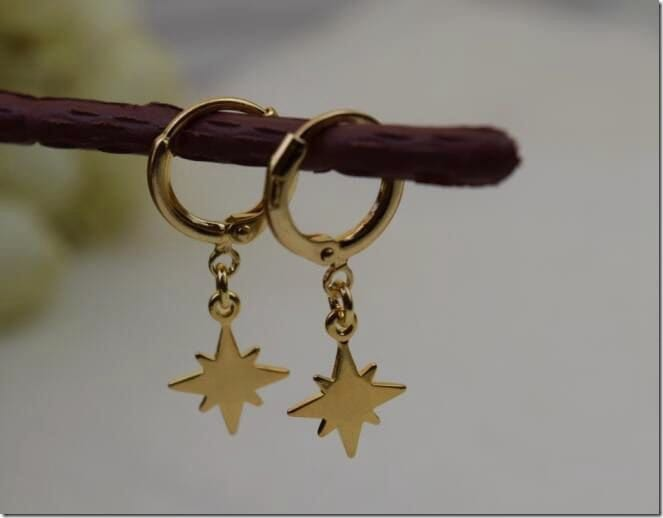 north-star-hoop-earrings