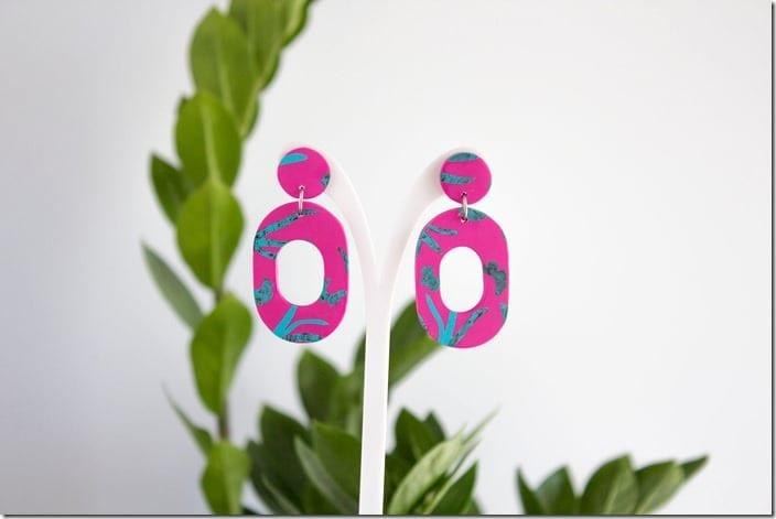 pink-tropical-drop-hoop-earrings