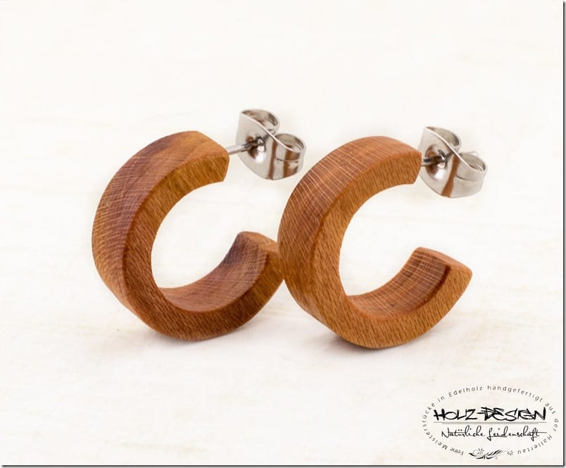 plum-wood-open-hoop-stud-earrings