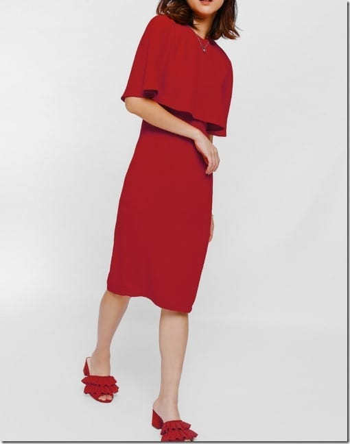 red-layered-bodice-midi-dress