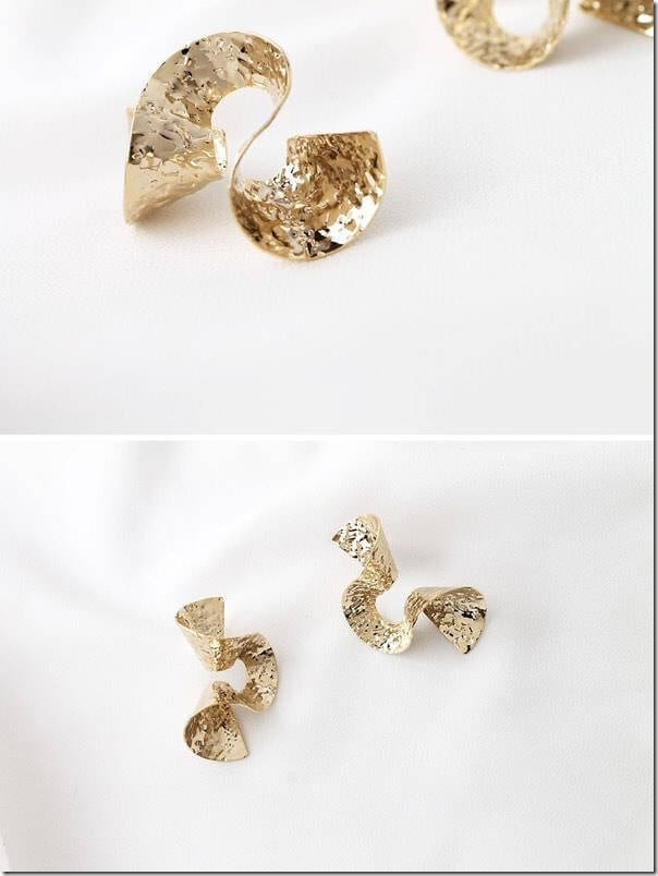 statement-hammered-wave-earrings