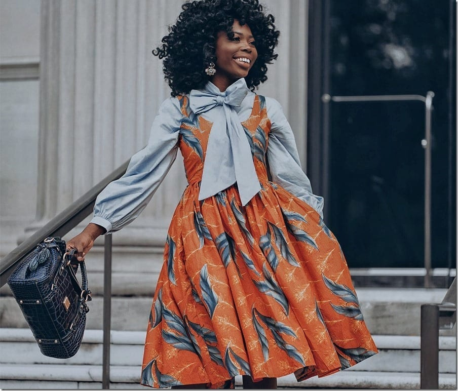 Wear African Print Ankara Dresses For A Pop Of Bold Print And Color