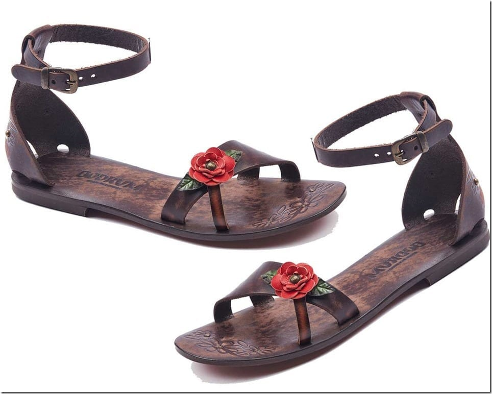 The Leather Sandals For Charming Summer Feet