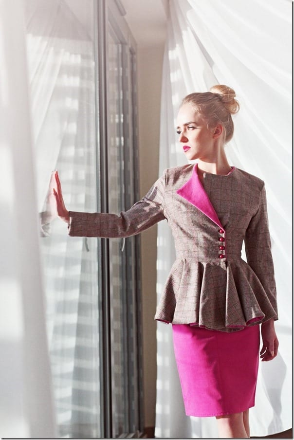 The Classy Peplum Blazer Style For A Smart And Feminine Look