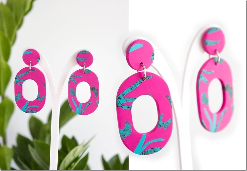 Adorn Your Summer Ears With This Tropical Earring Style