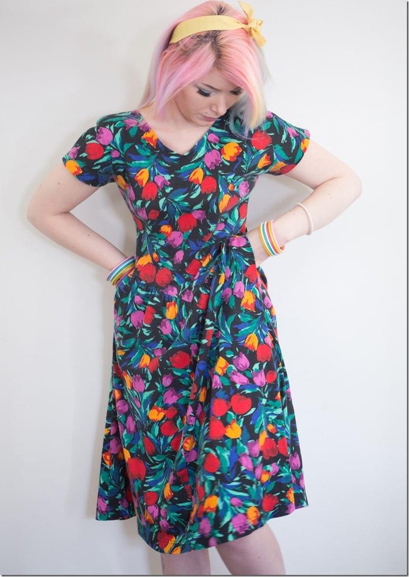 vintage-80s-floral-sun-dress