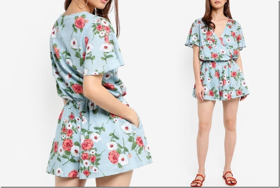 The Easy Summer Romper For Stylish Lazy Evening OOTD