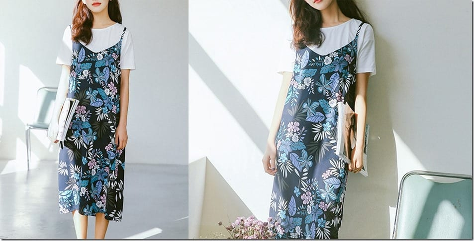 blue-floral-print-cami-slip-dress