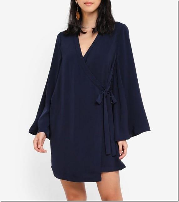 cobalt-loose-kimono-dress
