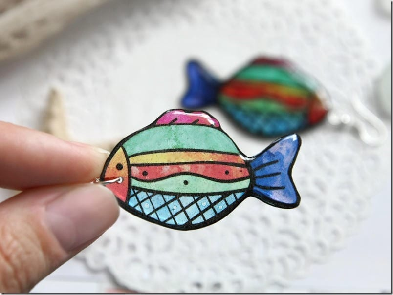 Colorful Fish To Adorn Your Lucky Ears With