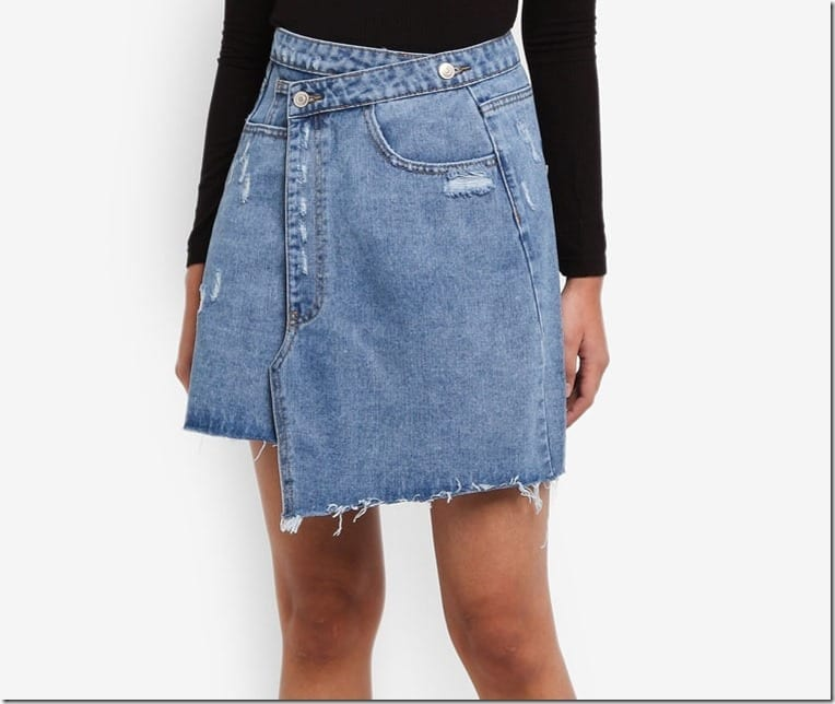 deconstructed-asymmetric-denim-mini-skirt