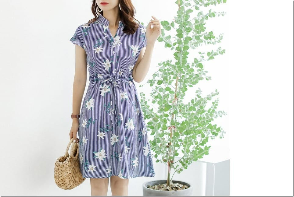 5 Dress Ideas For A Breezy Korean Style Summer Fashion Statement