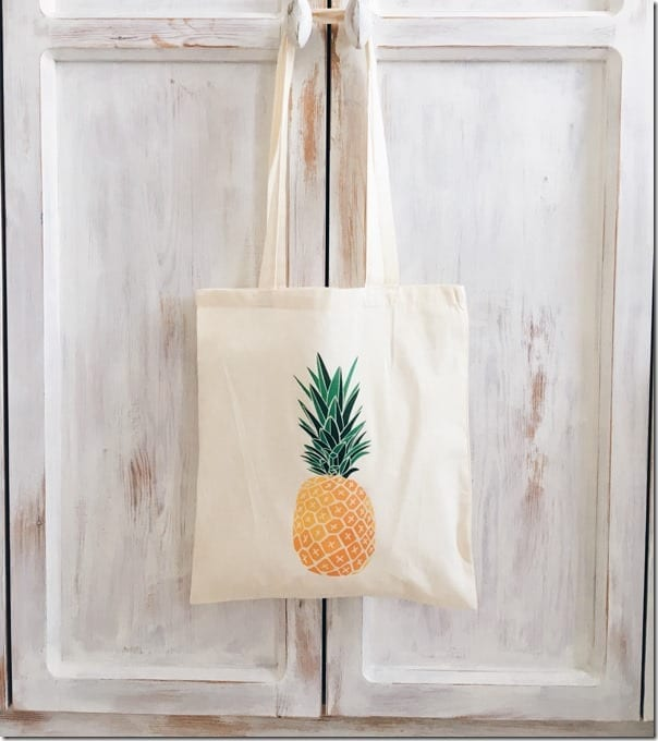 pineapple-fruit-canvas-tote-bag