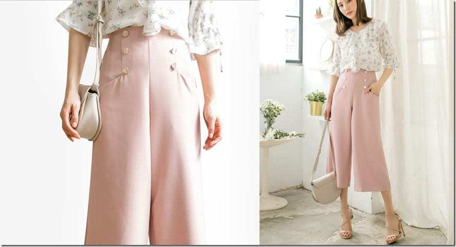 pink-button-detail-culottes