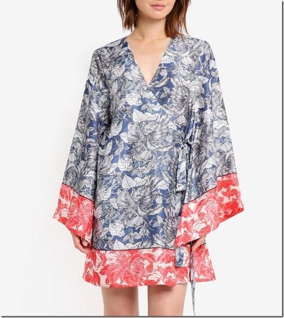 tropical-floral-loose-kimono-dress