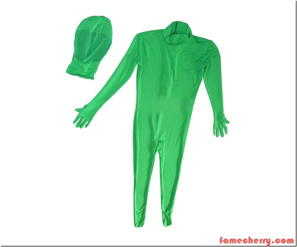Chromakey Green Screen Suit Malaysia ( Green Body Suit )