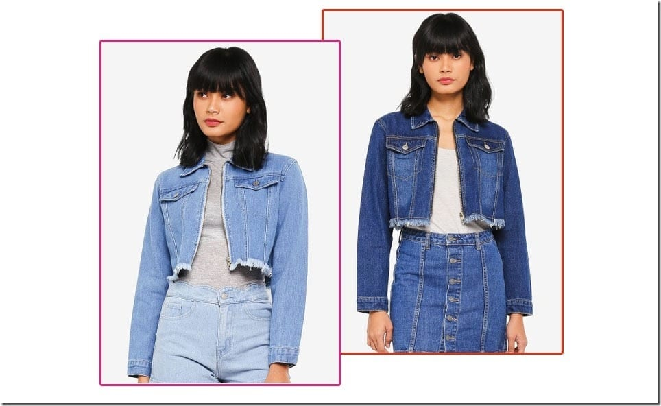 The Chic Crop Denim Jacket For Casual OOTD In Unpredictable Weather