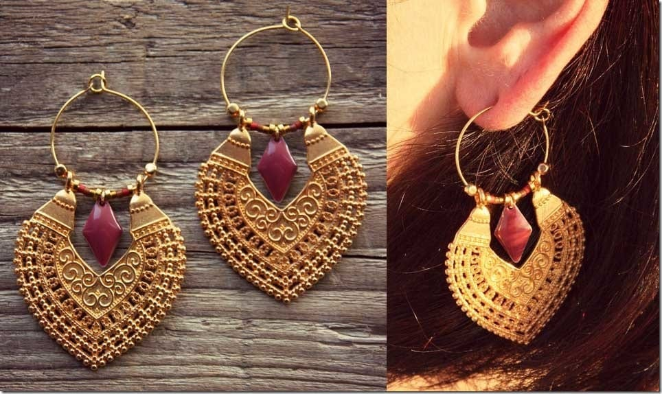 The Hoop And Dangle Earrings To Wear For A Festive Diwali 2018 Ear Game