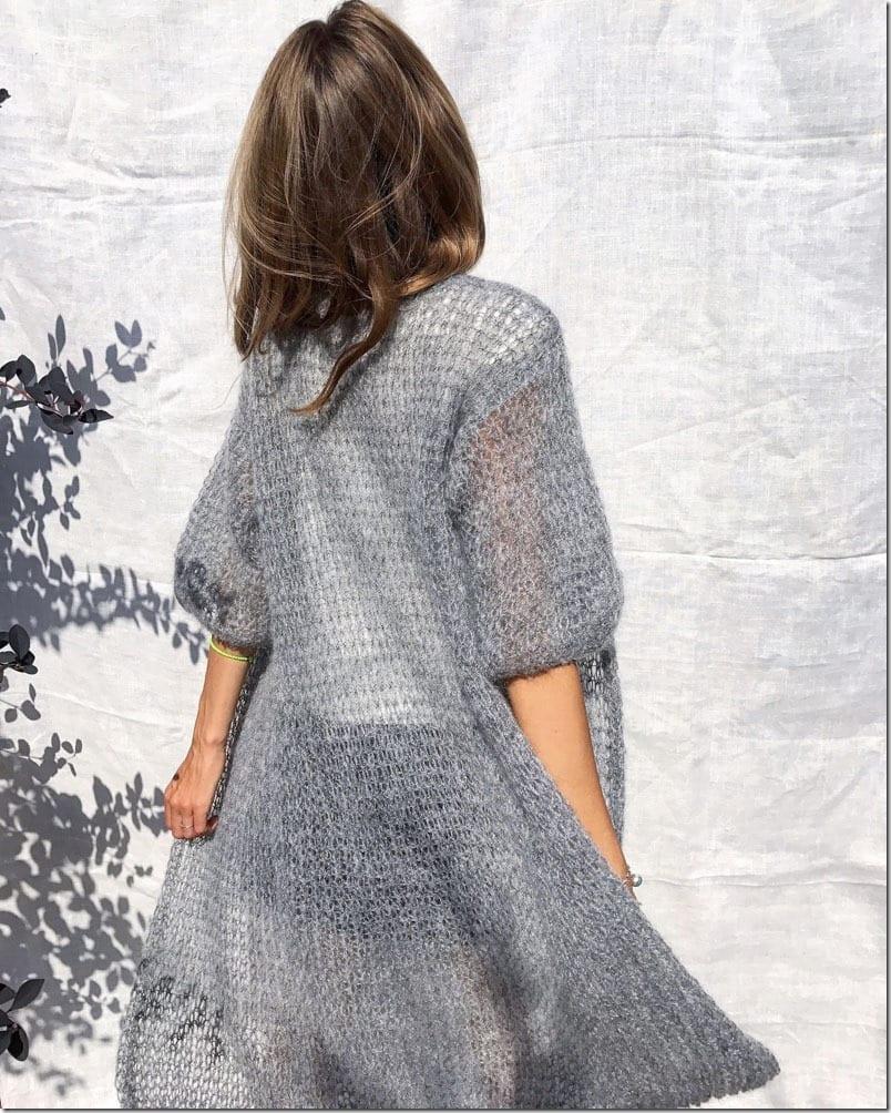 gray-long-knit-cardigan