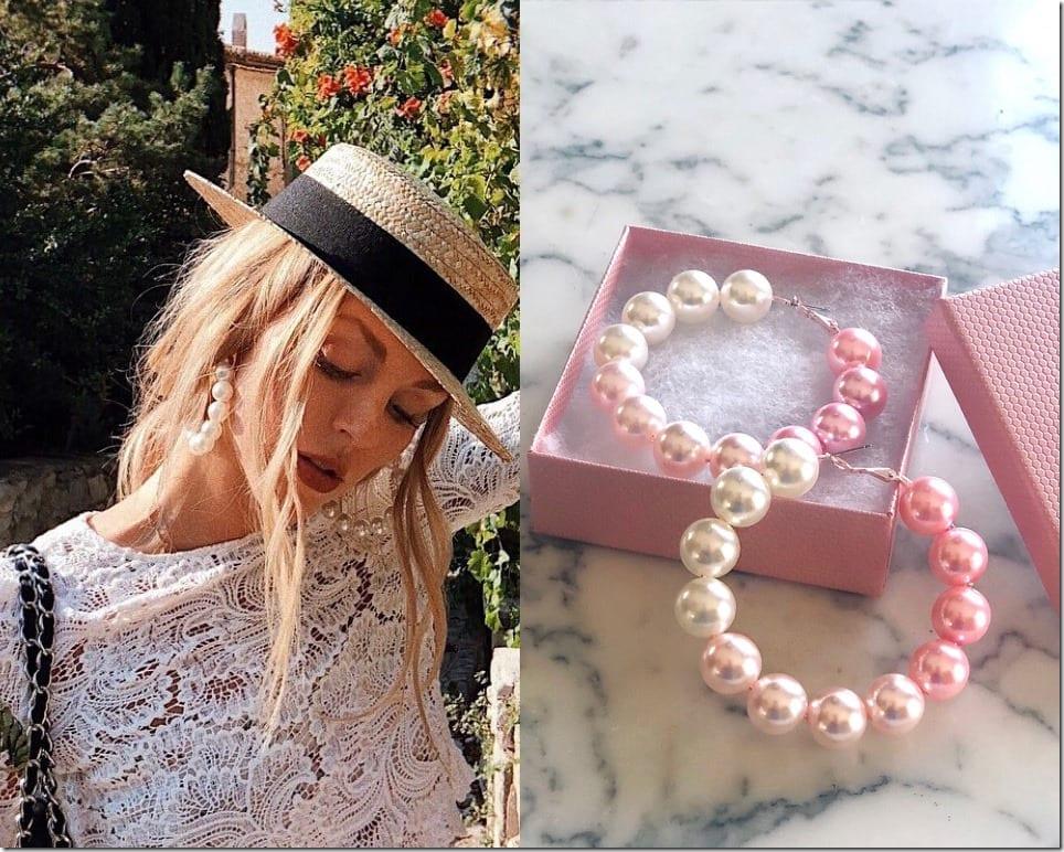 ivory-pink-ombre-pearl-hoop-earrings