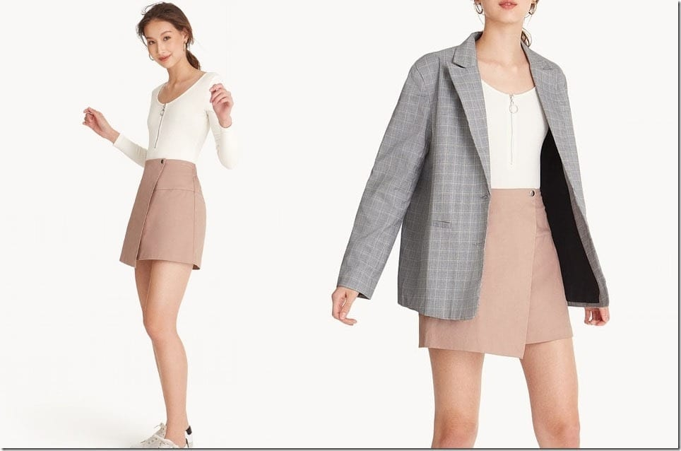 The Minimalist Mini Skirt To Complete Any Outfit