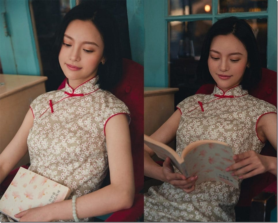 Modern Cotton Cheongsam Dresses That You Can Wear Everyday