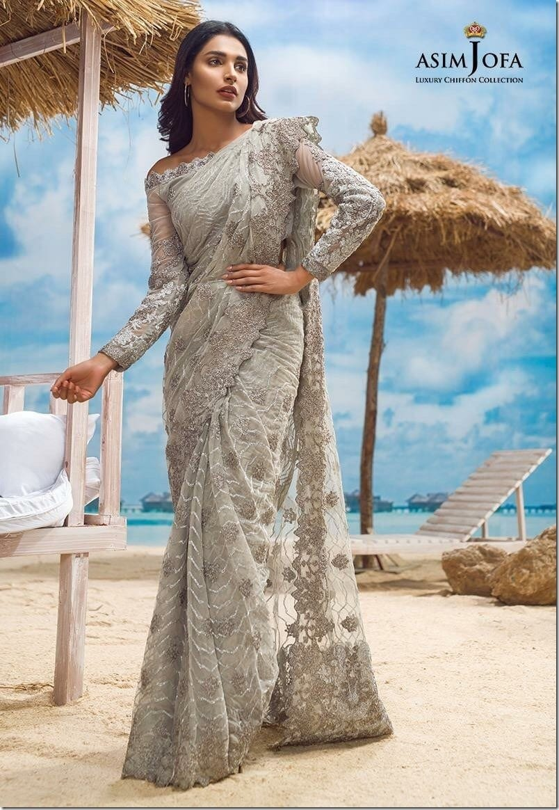 monsoon-grey-embroidered-saree