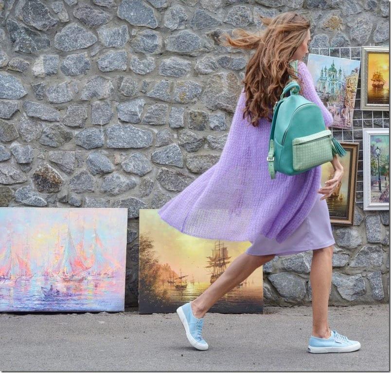 purple-long-knit-cardigan