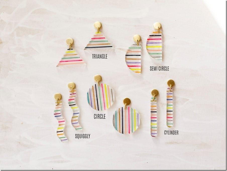 stripe-clear-acrylic-earrings