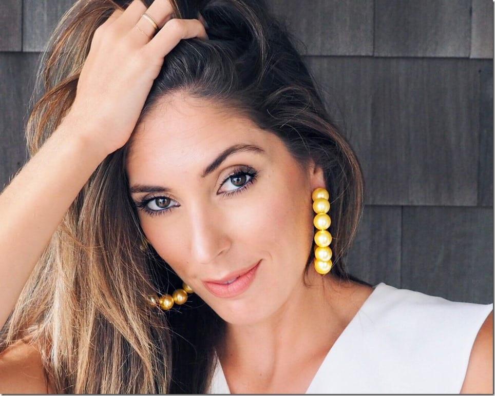 yellow-gold-pearl-hoop-earrings