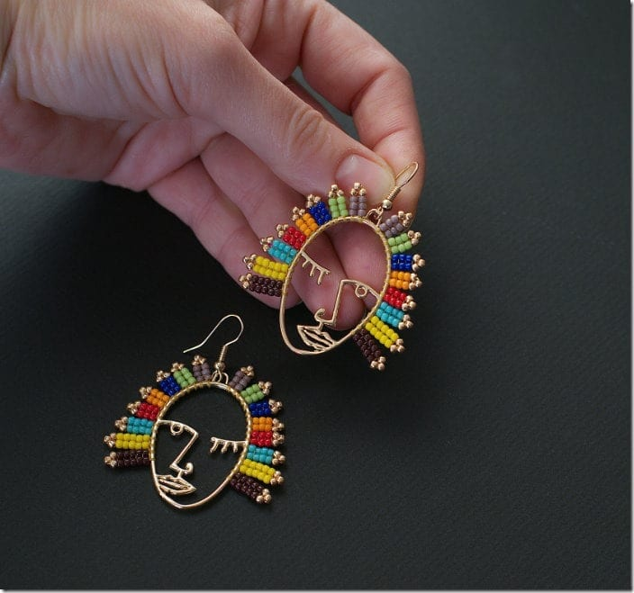 colorful-hollow-face-earrings