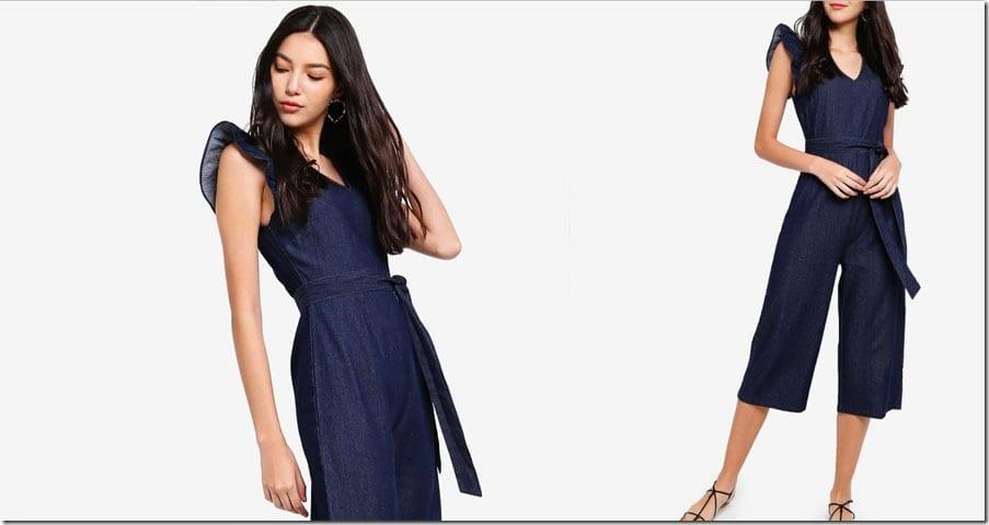 dark-blue-ruffle-denim-jumpsuit