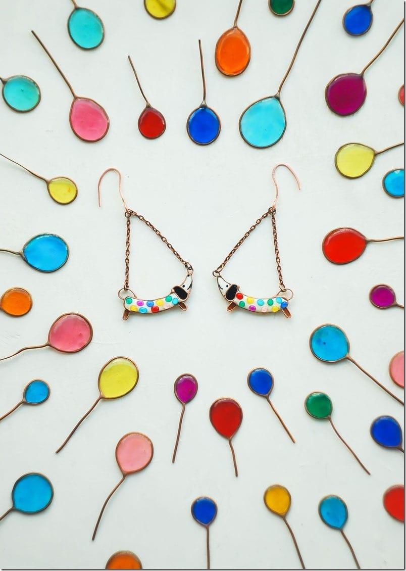 dashchund-puppy-earrings